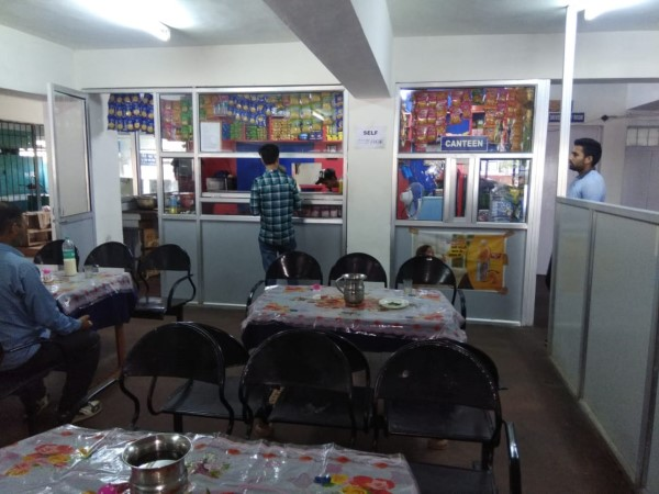 Canteen in Civil Hospital Palampur